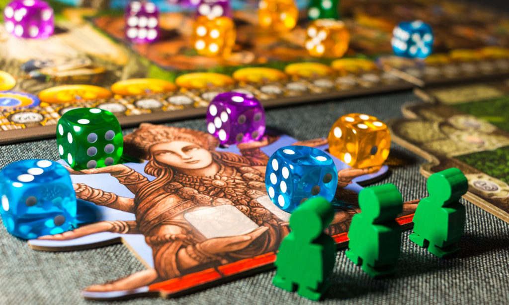 Rajas of the Ganges Dice and Worker