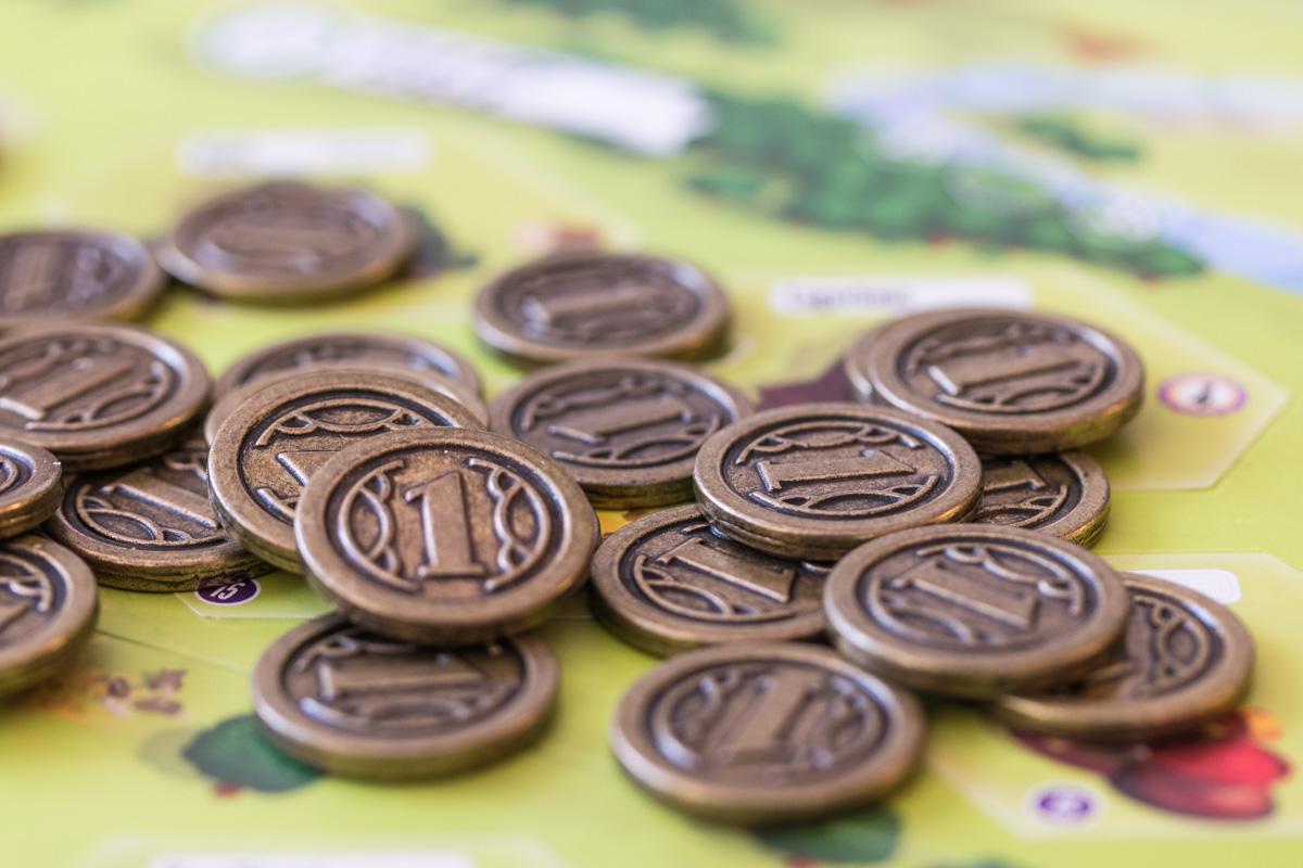 Charterstone Münzen
