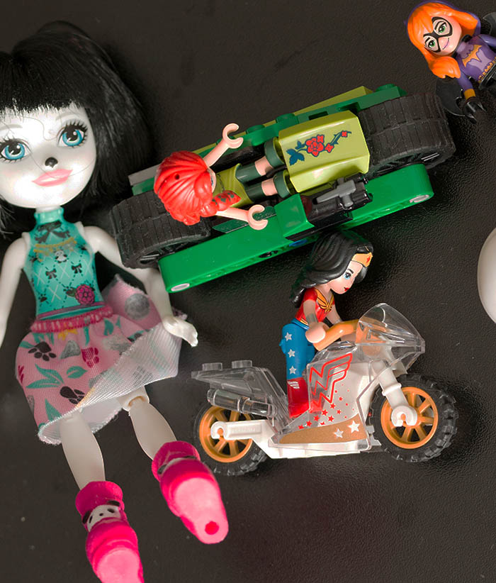 Miniaturen in Brettspielen - Kinderspielzeug