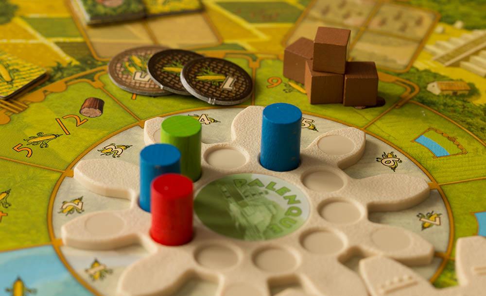 Miniaturen in Brettspielen - Tzolkin