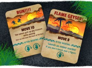 Fireball Island Aktionskarten