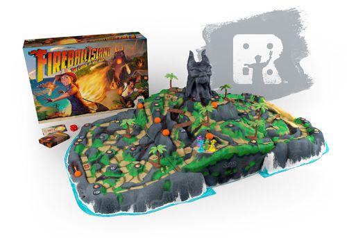 Fireball Island 3D Board