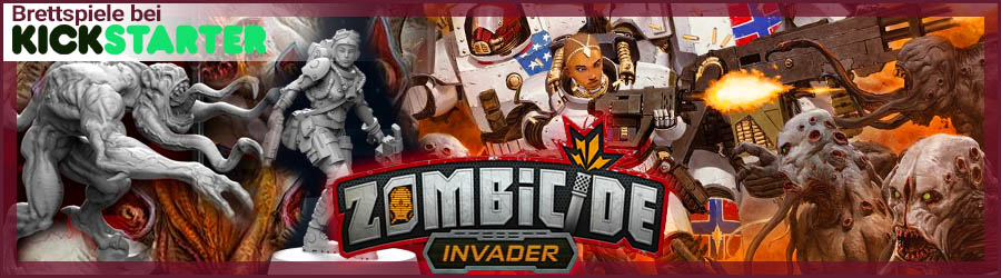 Zombicide Invader Kickstarter Brettspiel