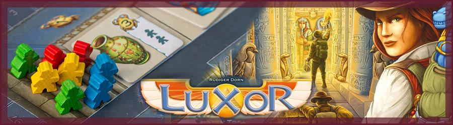Luxor Brettspiel Review