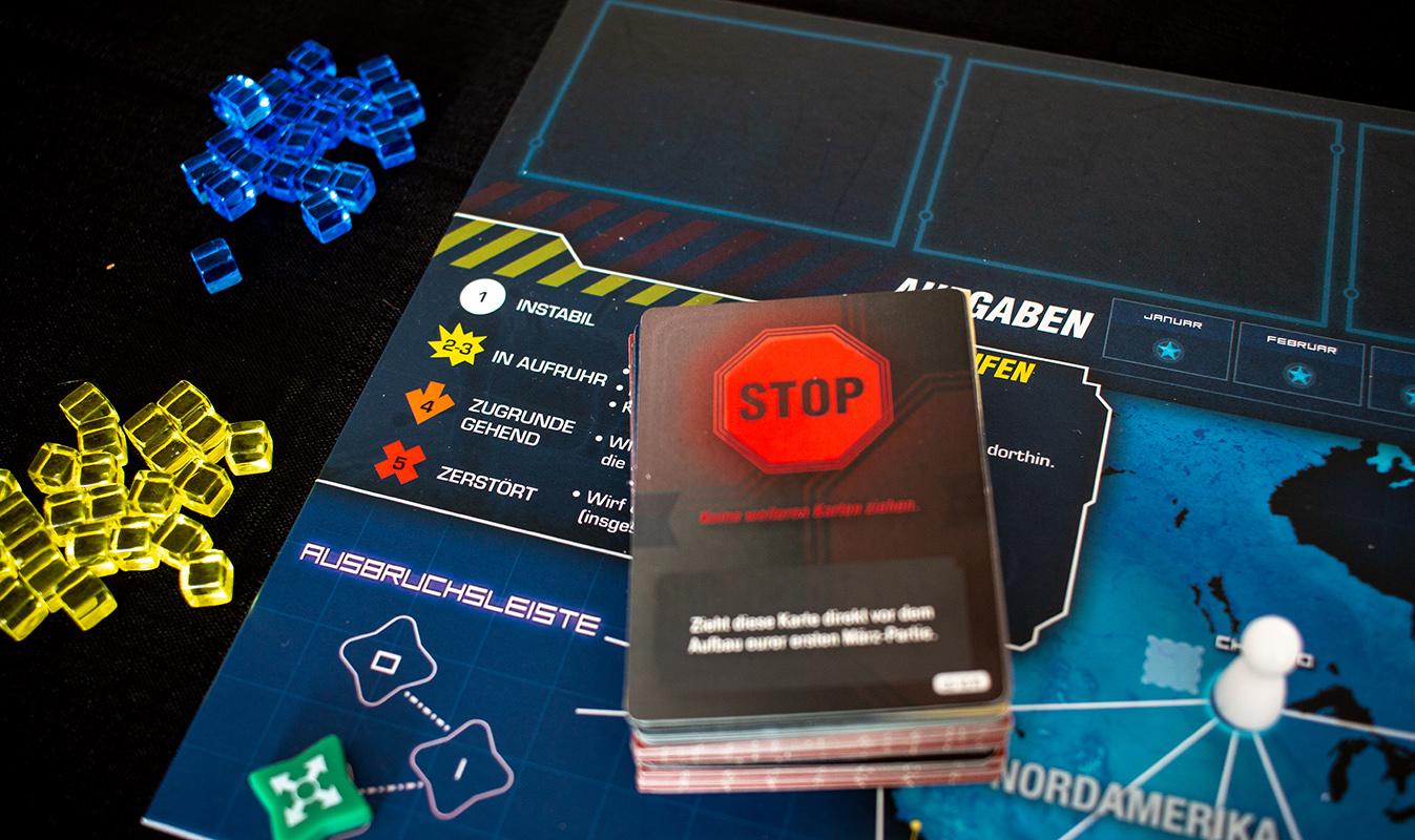 Pandemic Legacy Kartenstapel