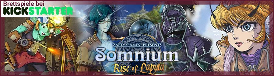 Brettspiele bei Kickstarter - Somnium: Rise of Laputa