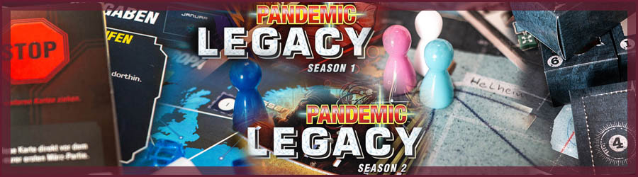 Review: Pandemic Legacy Season 1 und 2