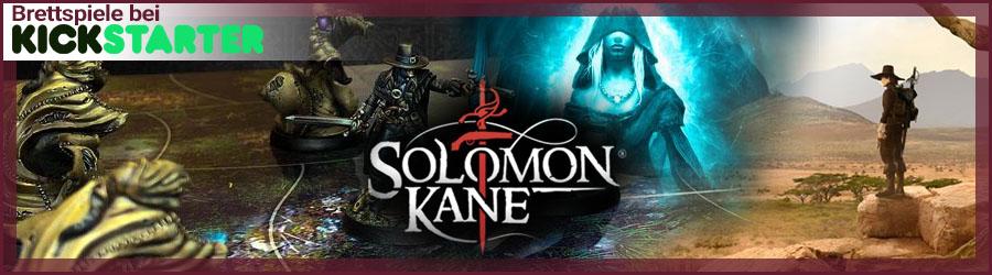 Brettspiele bei Kickstarter. Solomon Kane