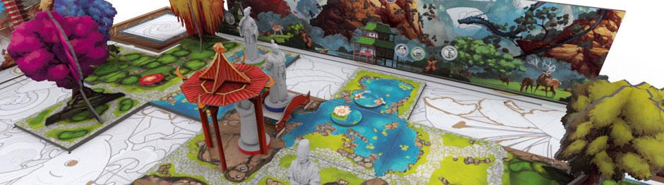 Tang Garden Spielbrett