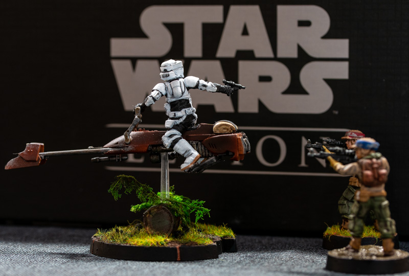 Star Wars Legion Speederbike