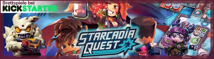 Kickstarter Starcadia Quest