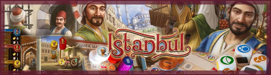 Istanbul Brettspiel, Würfelspiel und App