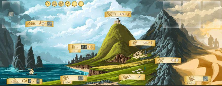 The Ancient World Spielbrett