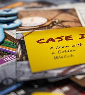 Detective Spielmaterial
