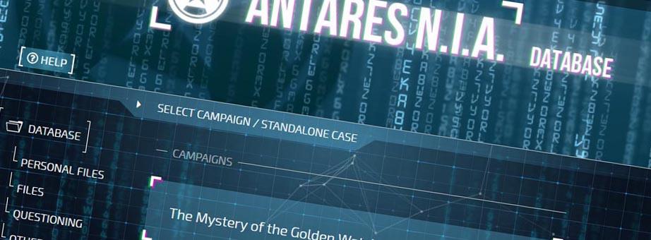 Detective Antares Datenbank