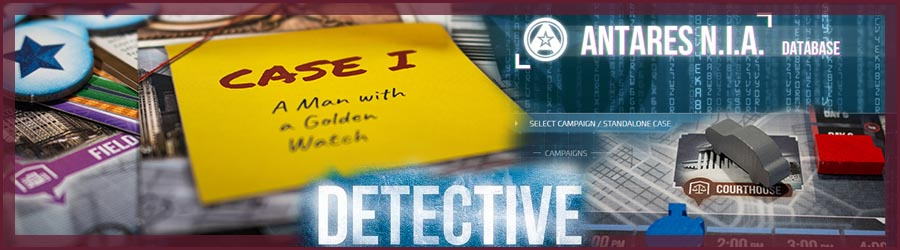 Detective Brettspiel Review