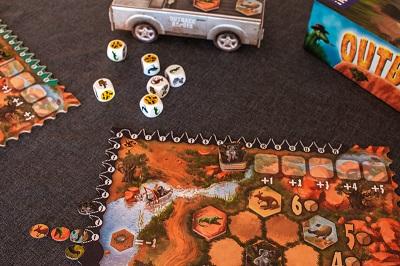 Outback Brettspiel