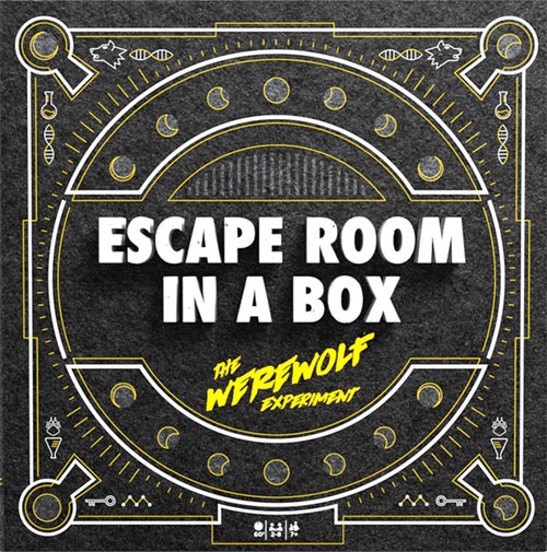 Escape Room In A Box: The Werewolf Experiment Cover