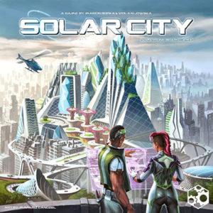 Solar City Cover