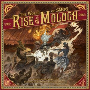 The World of SMOG: Rise of Moloch Cover