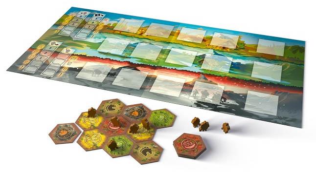 Das Tribes Brettspiel bei Kosmos