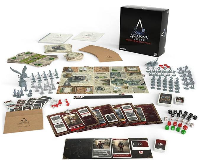 Assassins Creed Brotherhood of Venice Spielmaterial