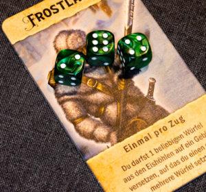 Roll for Adventure Brettspiel Würfel