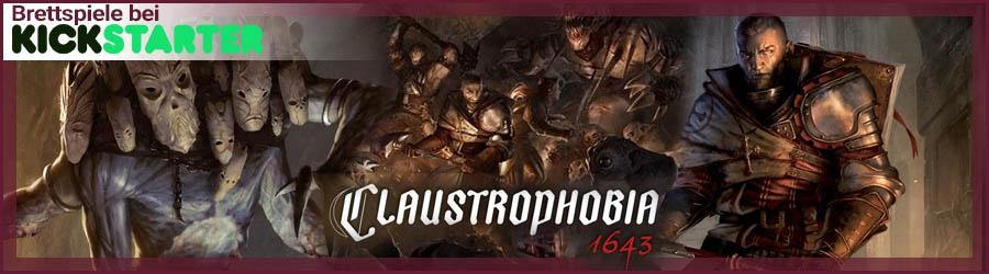 Brettspiele bei Kickstarter: Claustrophobia 1643