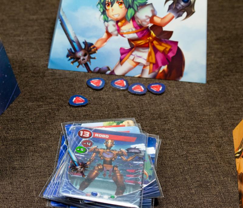 Custom Heroes Kartenspiel