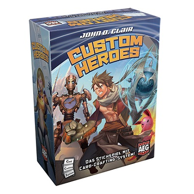 Custom Heroes Brettspiel Box