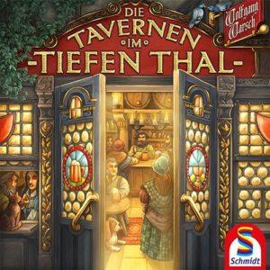 Die Tavernen im Tiefen Thal Brettspiel Cover