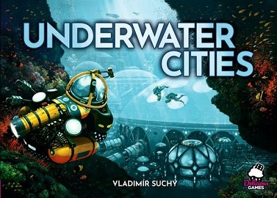Underwater Cities Brettspiel Cover