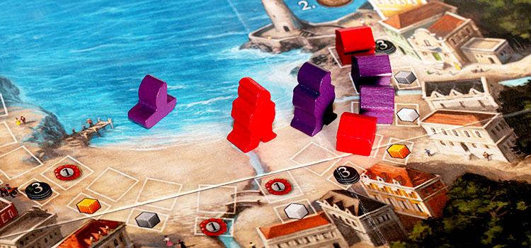 Valparaiso Brettspiel Hafen