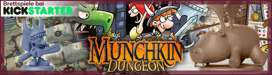 Kickstarter Banner Munchkin Dungeon