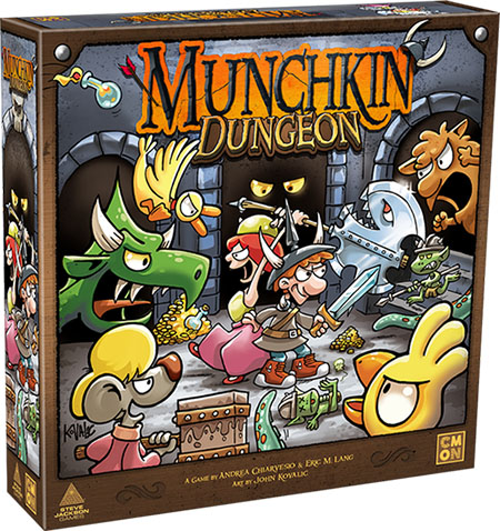 Munchkin Dungeon Cover
