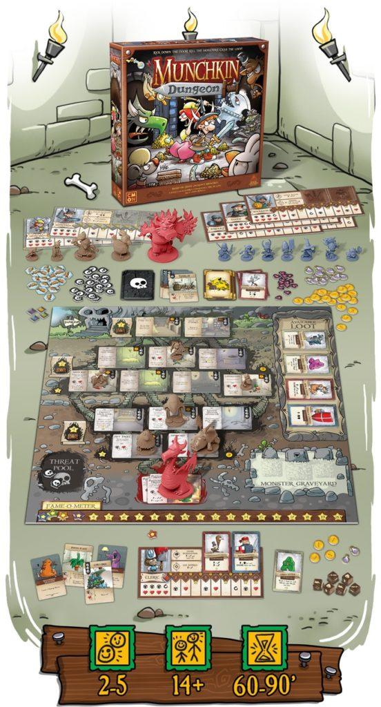 Munchkin Dungeon Brettspiel