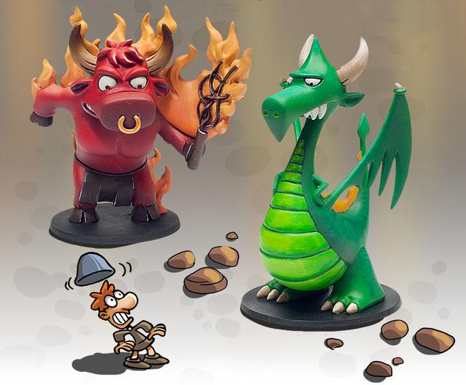Munchkin Dungeon Miniaturen