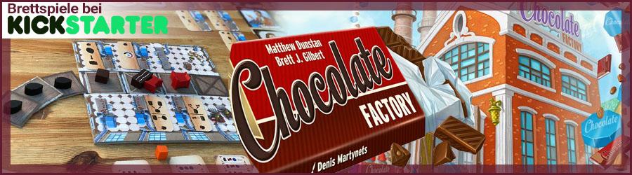 Brettspiele bei Kickstarter: Chocolate Factory