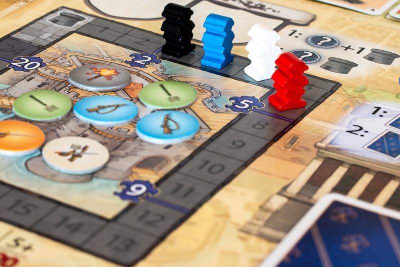Bastille Brettspiel Plan
