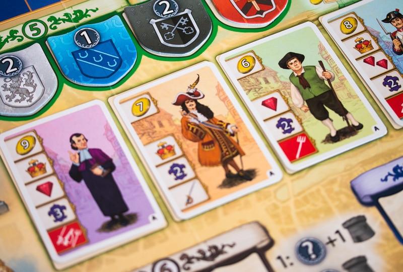Bastille Brettspiel Karten