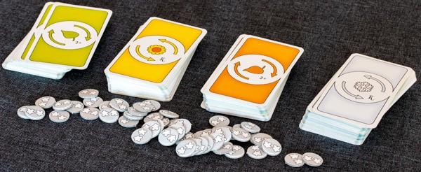 Key Flow Brettspiel Karten