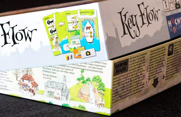 Key Flow Brettspiel Box