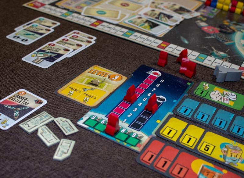 Lift Off Brettspiel Spieler