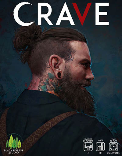 Brettspiele bei Kickstarter: Crave Cover