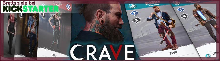 Kickstarter Banner Crave