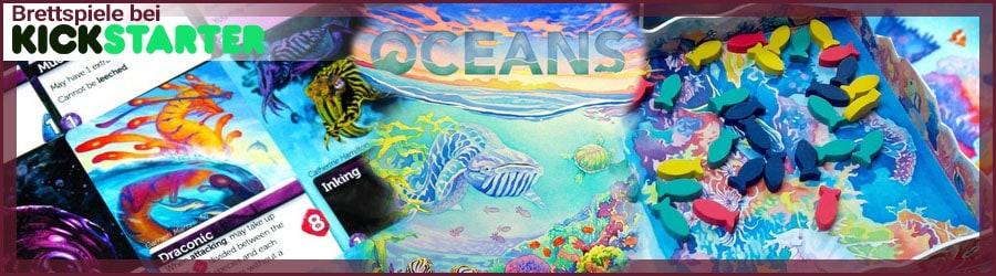 Kickstarter Brettspiel Oceans