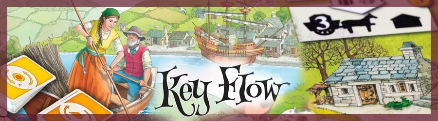 Brettspiel Review - Key Flow