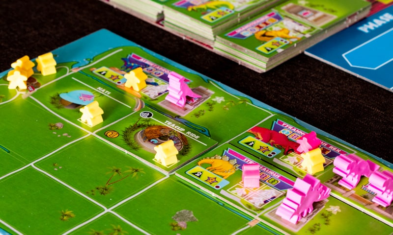 Dinosaur Island Brettspiel Feuerland Spiele