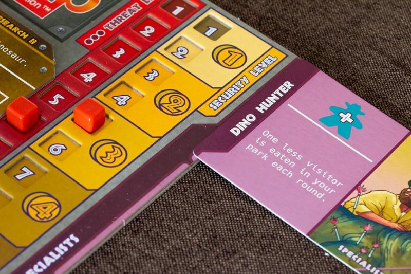 Dinosaur Island Brettspiel Sicherheit