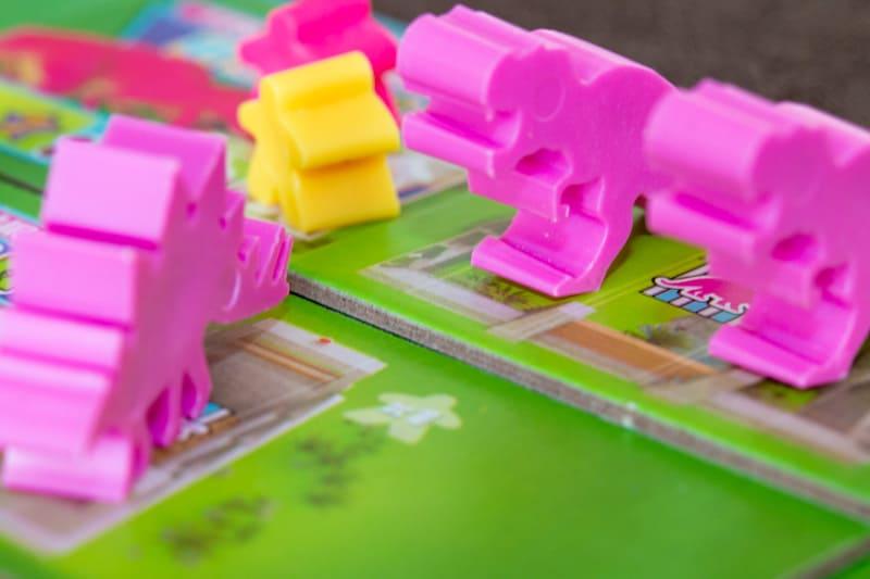 Dinosaur Island Brettspiel Besucher